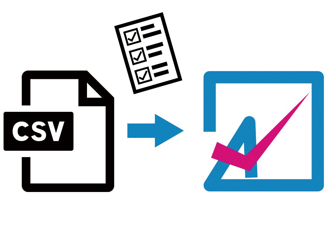 CSV データ取込み