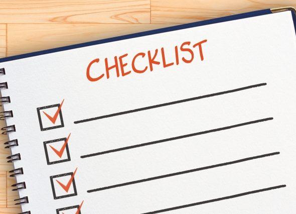 チェックリストは本当に効率的?チェックリストを使う効果とは。