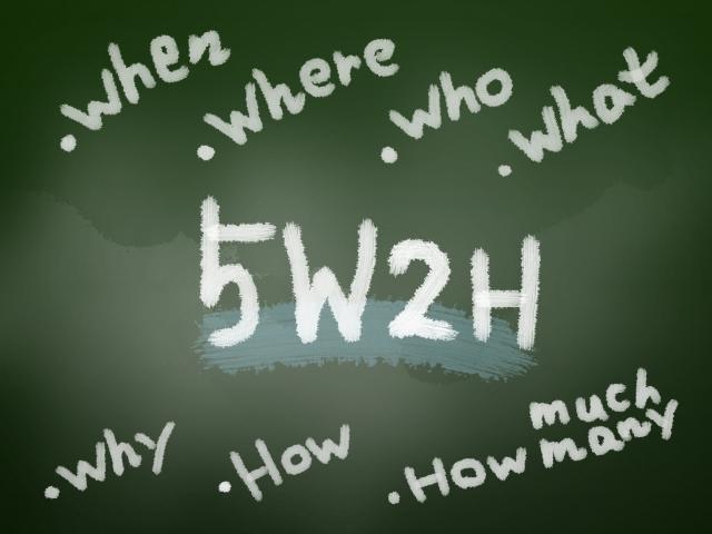 5W2Hとは